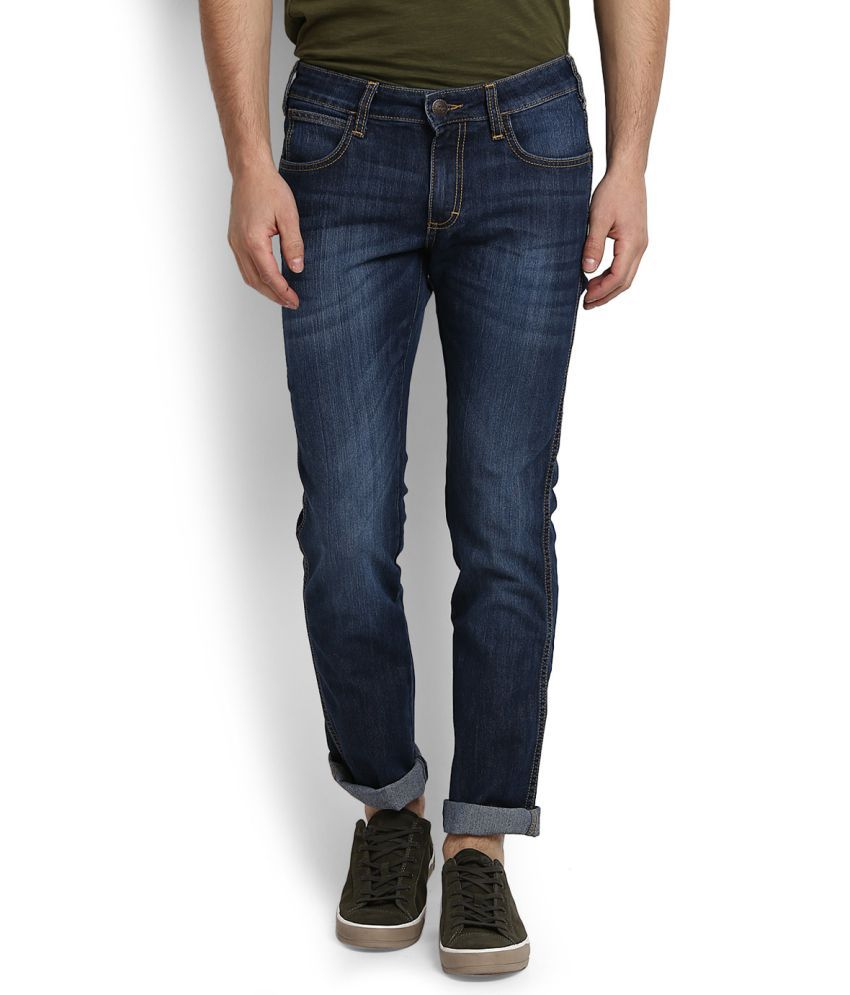 Wrangler Blue Slim Jeans low price