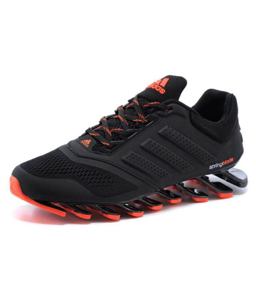 buy online 6b69d cc3a1 Adidas Springblade Drive M2 Running Shoes Black  Buy Online at Best Price  on Snapdeal