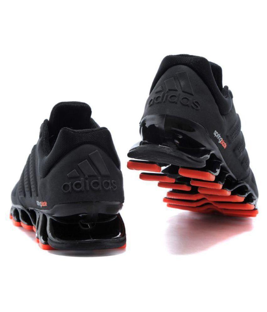 reputable site 19a71 b8774 Adidas Springblade Drive M2 Running Shoes Black