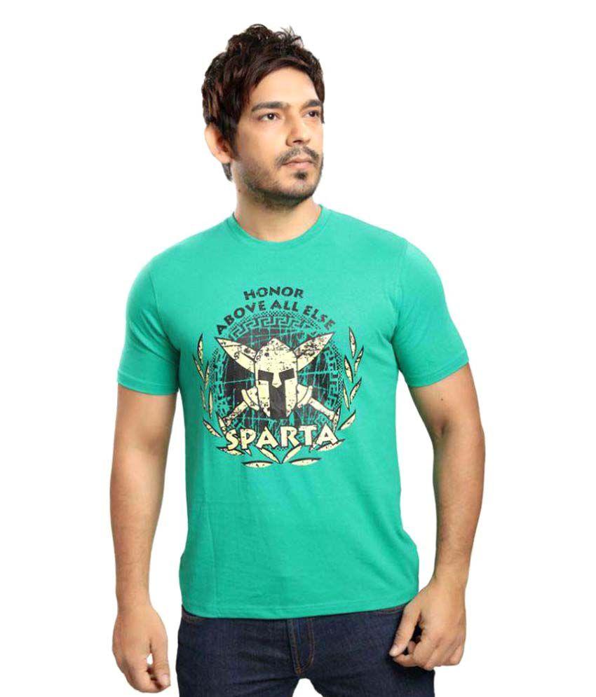 Vestonice Green Round T-Shirt