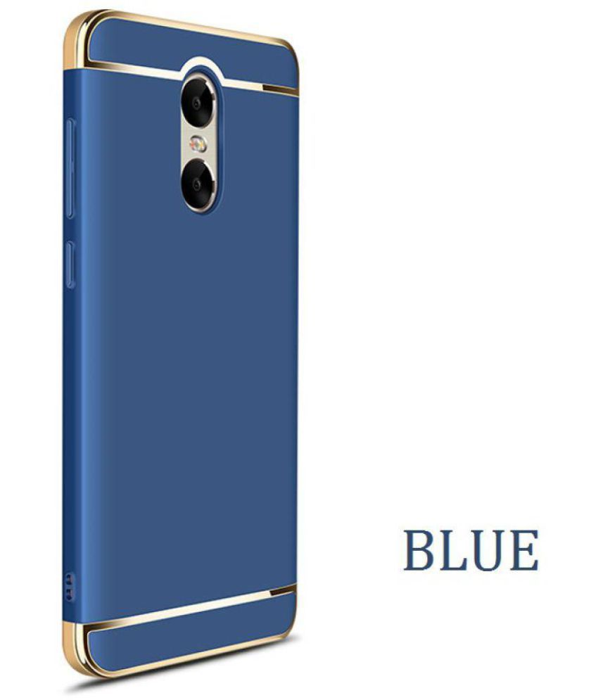 sale retailer c2c05 e54f5 Xiaomi Redmi Note 3 Bumper Cases BIGZOOK - Blue