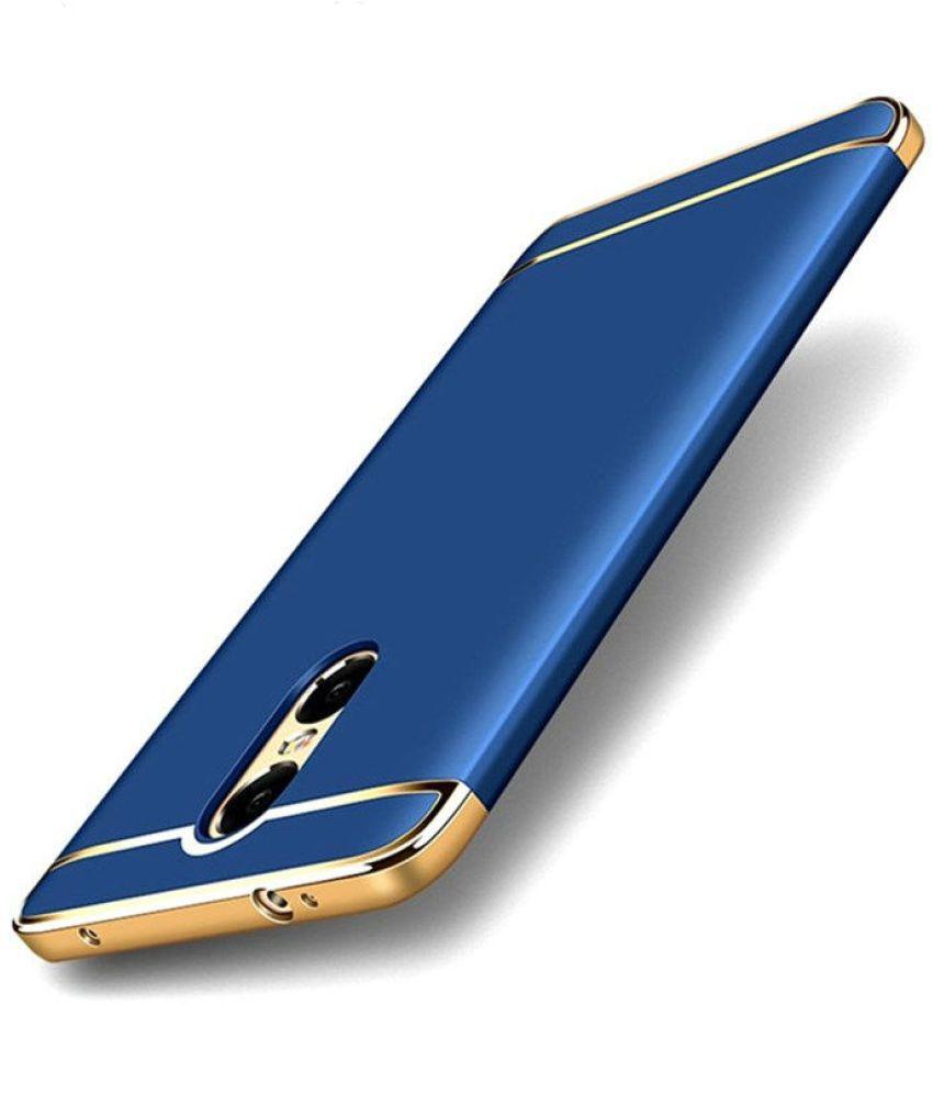 buy online 0d4fe 96976 Xiaomi Redmi Note 3 Bumper Cases BIGZOOK - Blue - Plain Back Covers ...