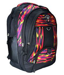 e9c74b7aea Quick View. Apnav Waterproof Black Stripes Backpack School Bag