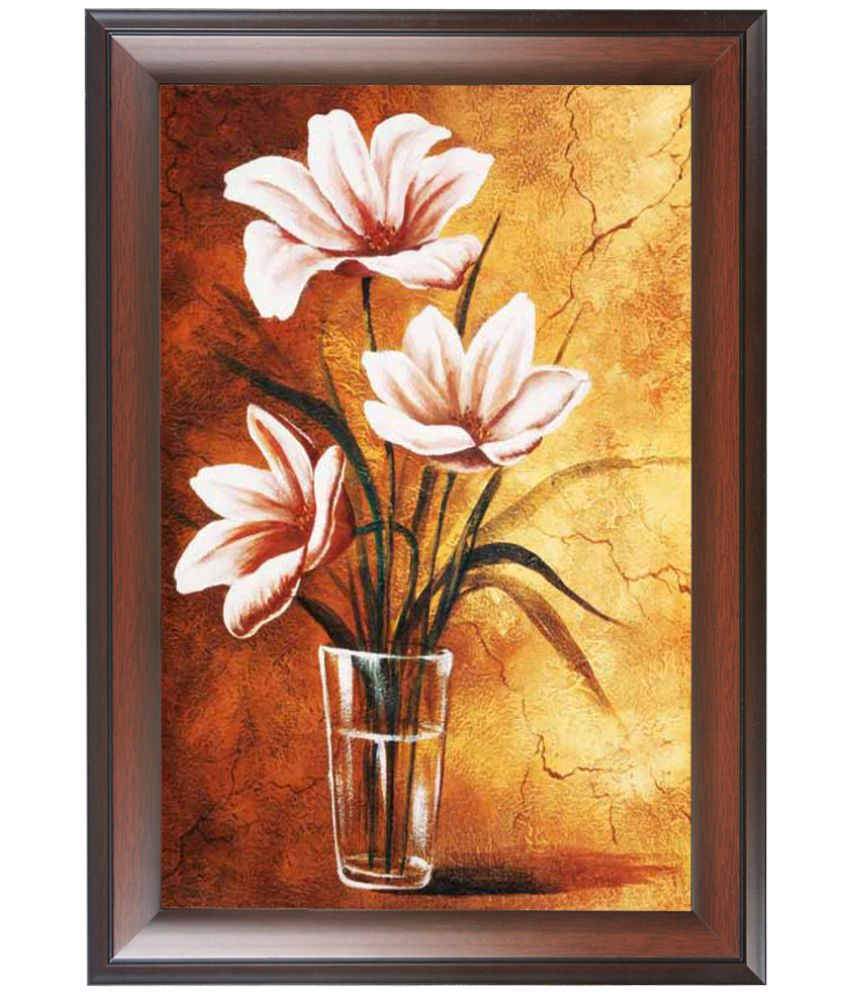 Wens MDF Painting With Frame Single Piece