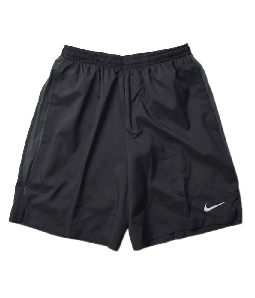 Nike Men's Solid Shorts - Black