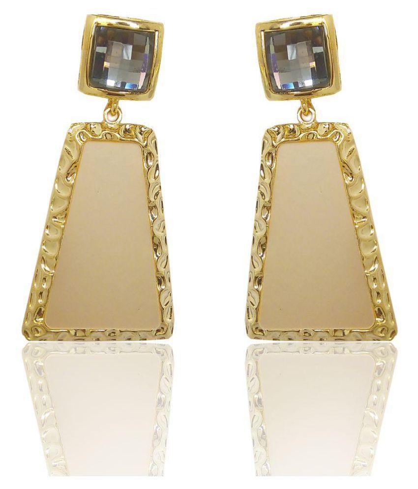 Carrydreams Hanging Golden Earrings