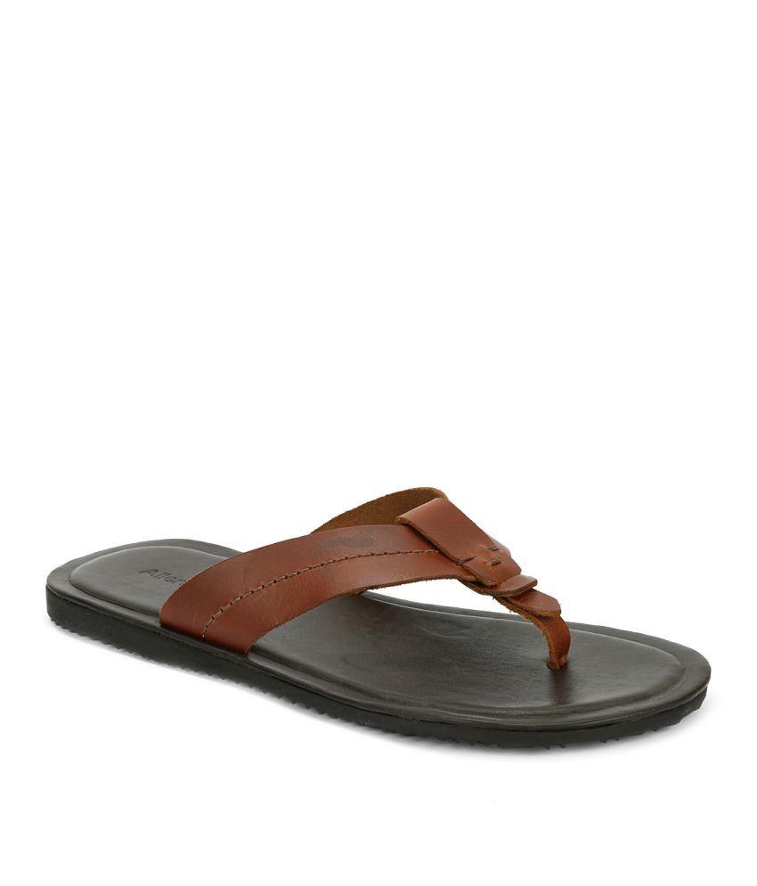 Allen Solly ASCHS316167 Black Slippers
