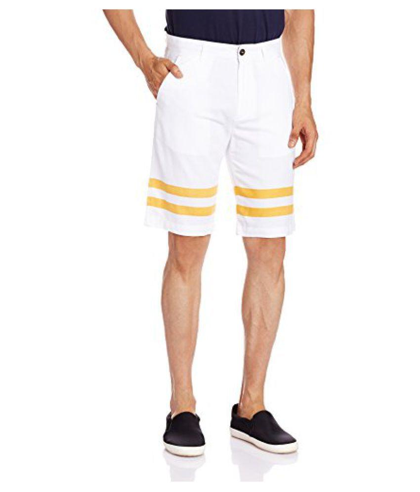 United Colors of Benetton Men's Linen Shorts