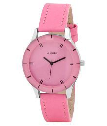 Laurels Original Pink Analog Watch - For Women