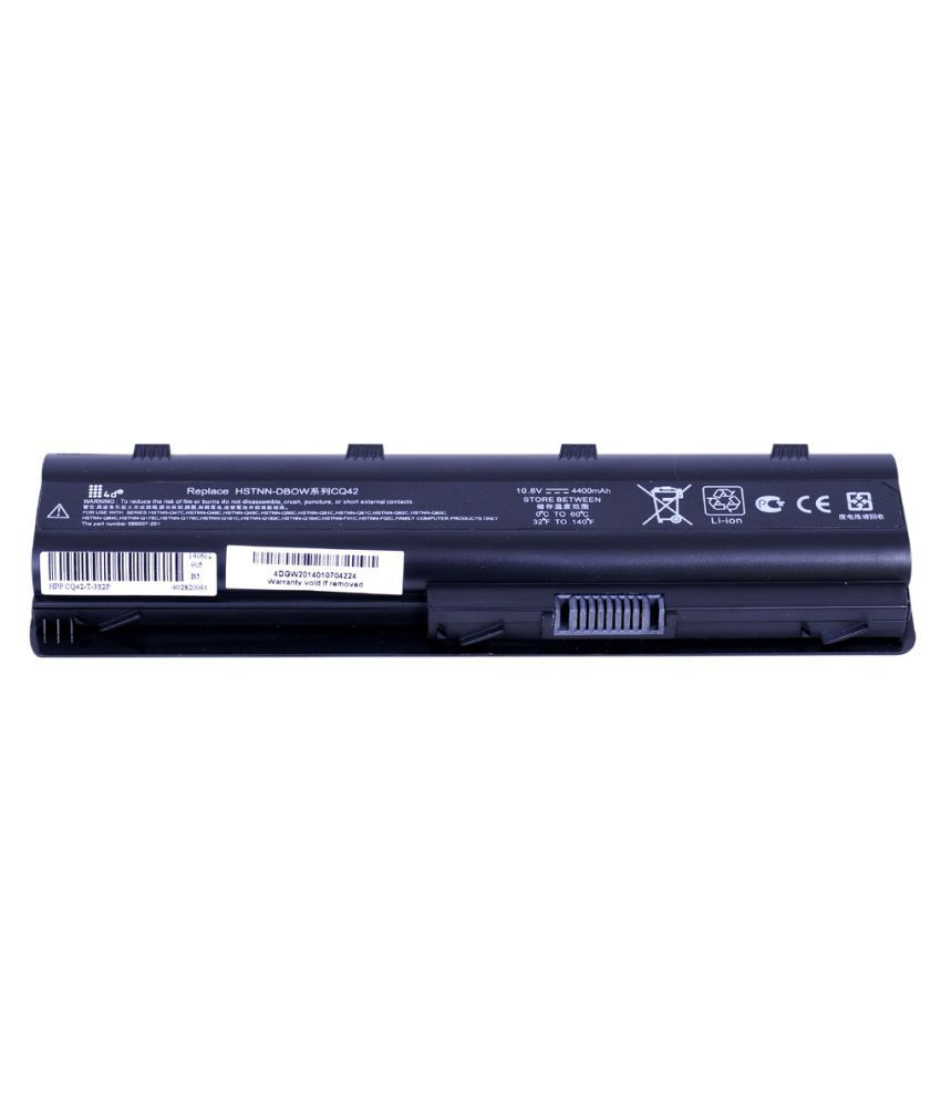 4d Impex Laptop battery Compatible For HP 4d-HP-PRES-CQ42-185TX-6CLB