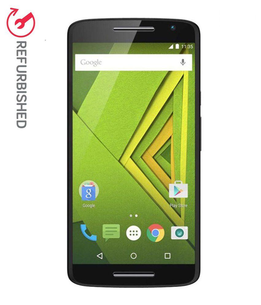 REFURBISHED Motorola Moto X Play 32GB Black