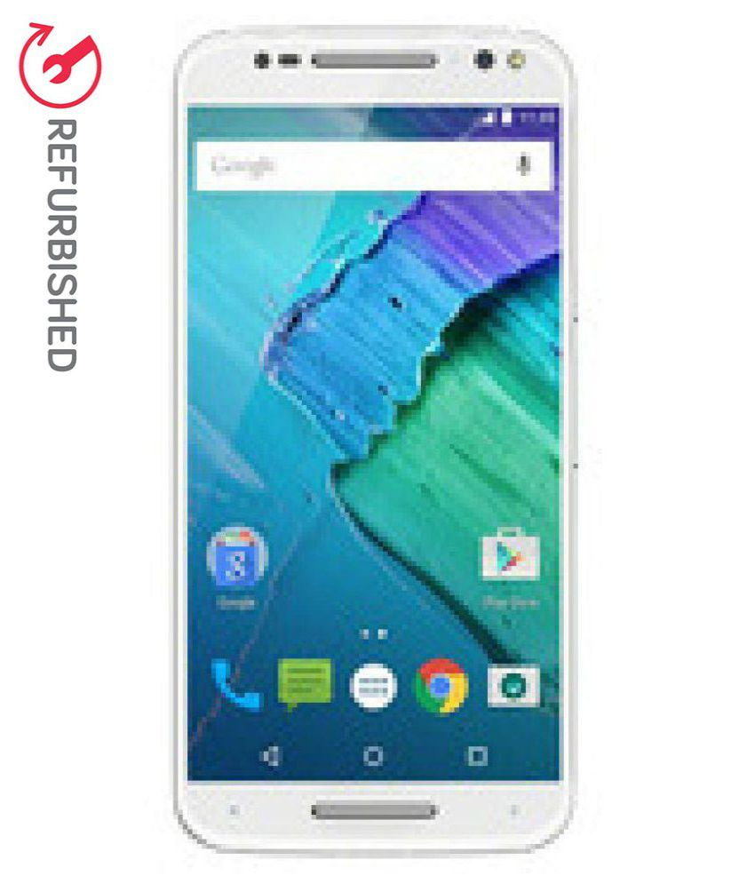 REFURBISHED Motorola Moto X Style XT1572 16 GB White available at SnapDeal for Rs.18499