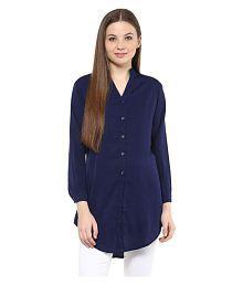 Mayra Poly Crepe Shirt