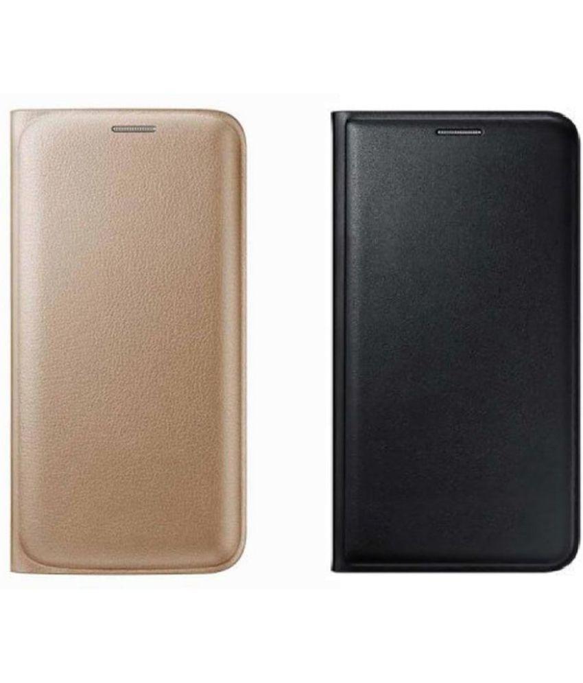 Lenovo Vibe K5 Note Flip Cover by Top Grade - Multi