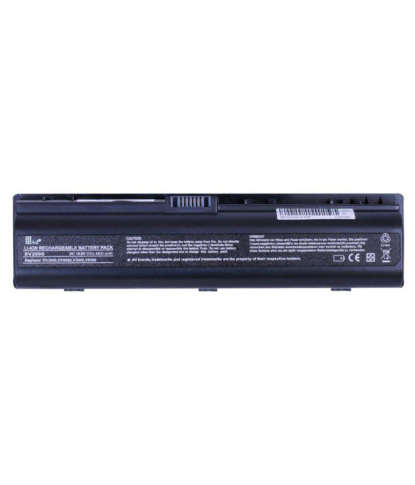4D Impex Laptop battery Compatible For HP PVLN-DV2202TU-6CLB