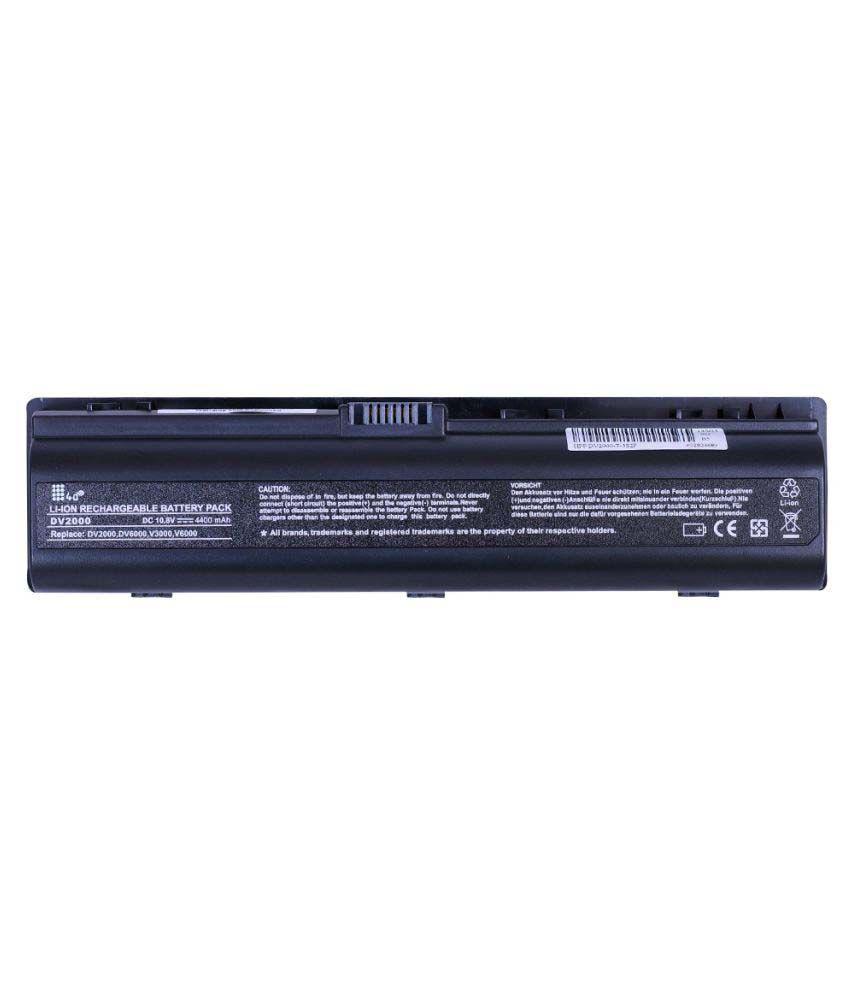 4d Impex Laptop battery Compatible For HP 4d-HP-PVLN-DV2200EA-6CLB