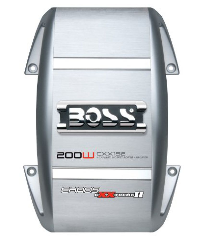 Boss Audio Systems CXX152 CHAOS EXXTREME 200 Watts 2-Channel Power Amplifier