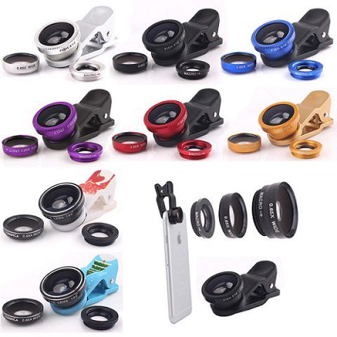 Fotonica Universal Mobile Camera Lens-ASSORTED COLOR