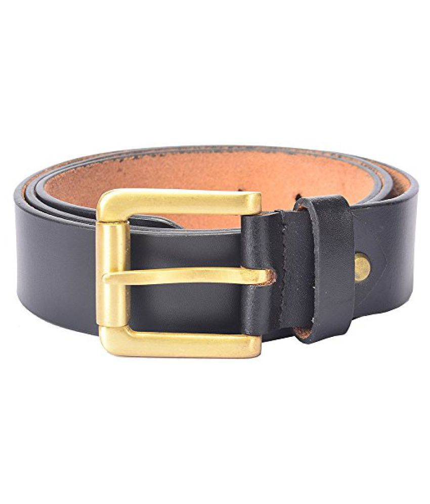 Hidelink Unisex Leather Belt (SP8091, Brown, 40)