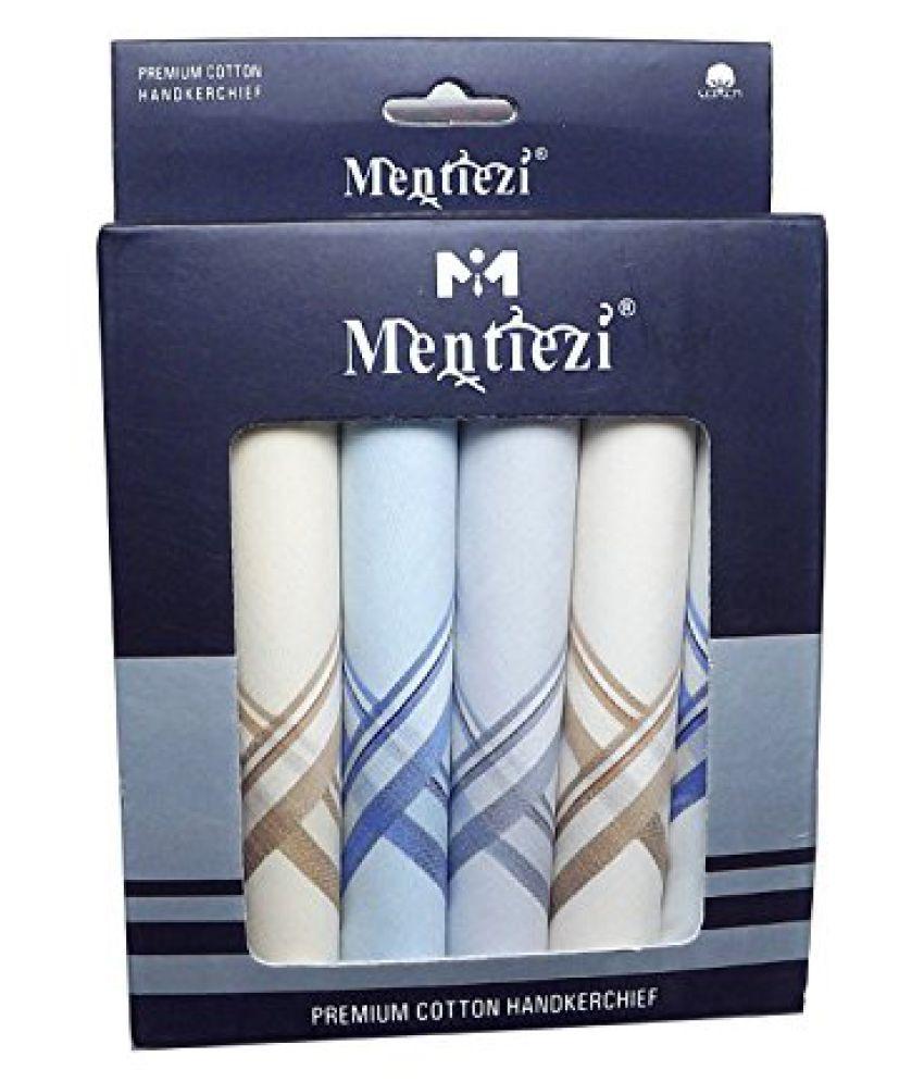 Mentiezi Mens Cotton Handkerchief