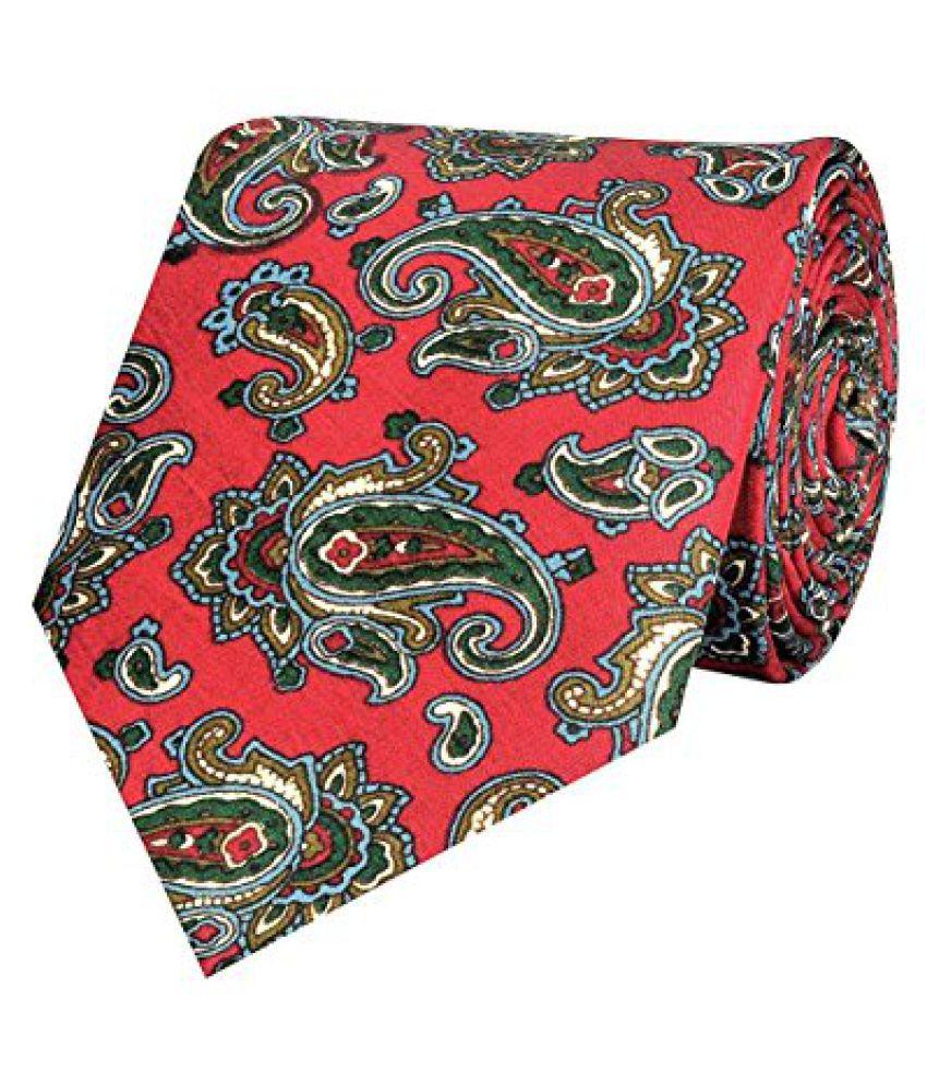 Tiekart Self Design MenS Tie (Sp146_Multi-Coloured)