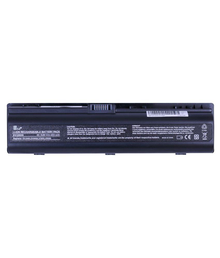 4d Impex Laptop battery Compatible For HP 4d-HP-PVLN-DV2102AU-6CLB