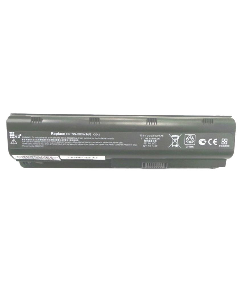 4d Impex Laptop battery Compatible For HP 4d-HP-593554-001-9CLB
