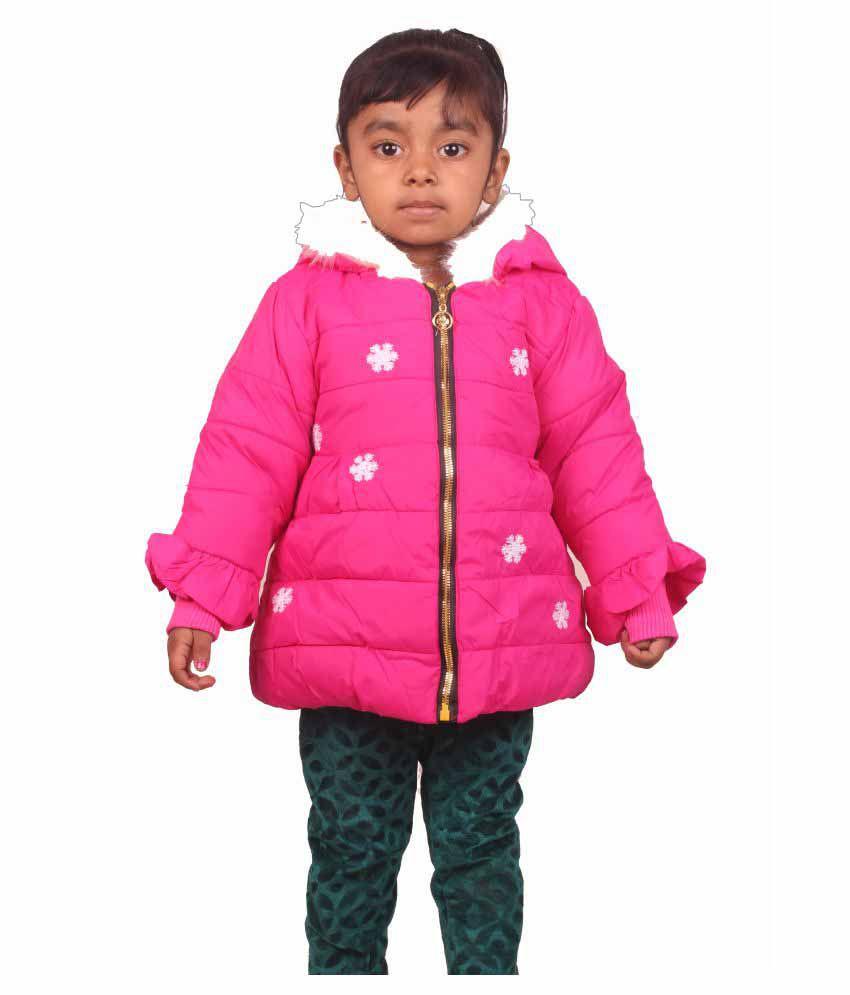 Owlkart Pink Girl's Jacket