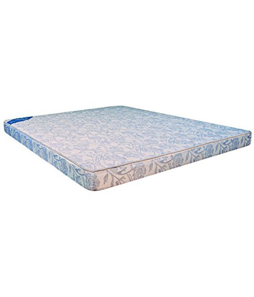 lotus sky blue 4 inch coir mattress by centuary mattress buy lotus