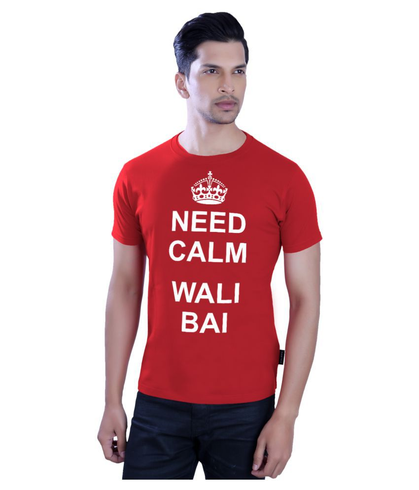 Tantra Red Round T-Shirt