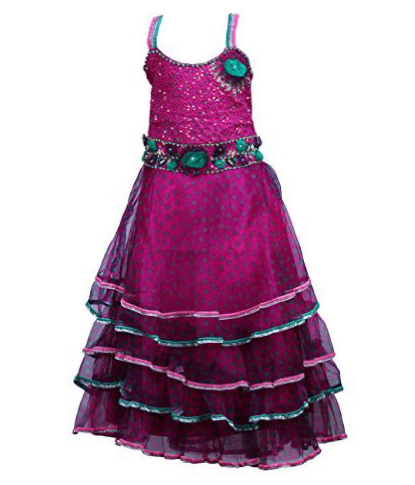 5af47917603ae Wish Karo Baby Girls Party Wear Frock Long Dress DN733LD - Buy Wish Karo  Baby Girls Party Wear Frock Long Dress DN733LD Online at Low Price -  Snapdeal