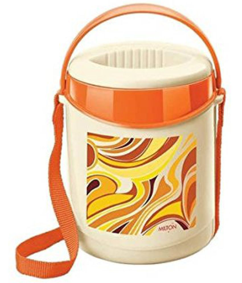 Milton Econa 3 Containers Tiffin - Orange (EC-THF-FTT-0024_ORANGE)