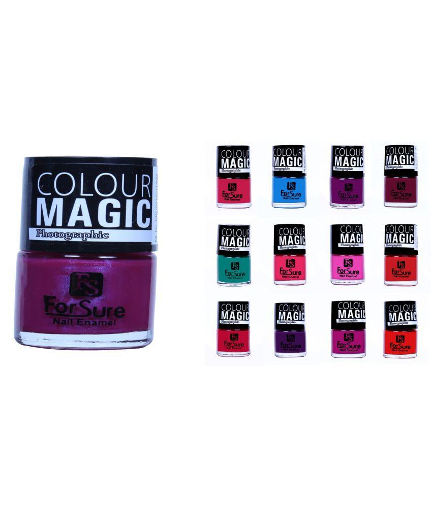 ForSure Nail Polish Multi Color Matte 650 gm