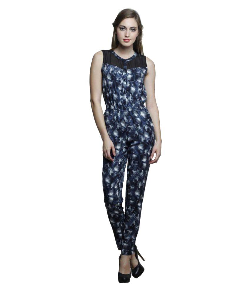 Trendsnu Poly Crepe Jumpsuits
