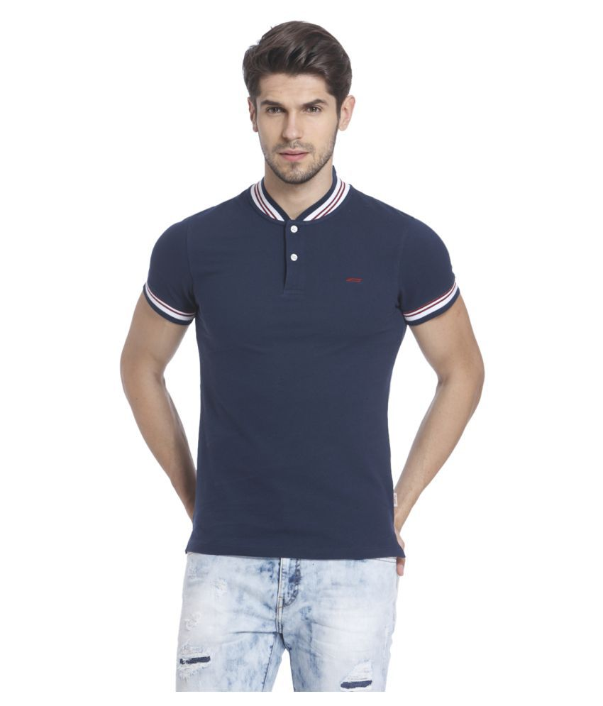 5a5c9a1c Jack & Jones Blue Slim Fit Polo T Shirt - Buy Jack & Jones Blue Slim Fit  Polo T Shirt Online at Low Price - Snapdeal.com