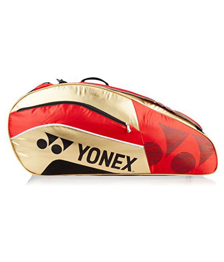 Yonex Badminton KitBag SUNR 8529TG BT9 SR (Red/Gold)