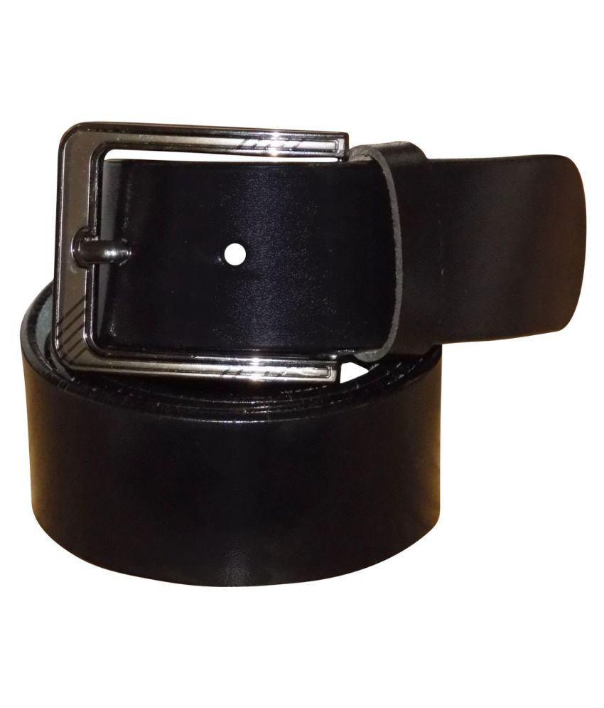 KAN Black Leather Party Belts