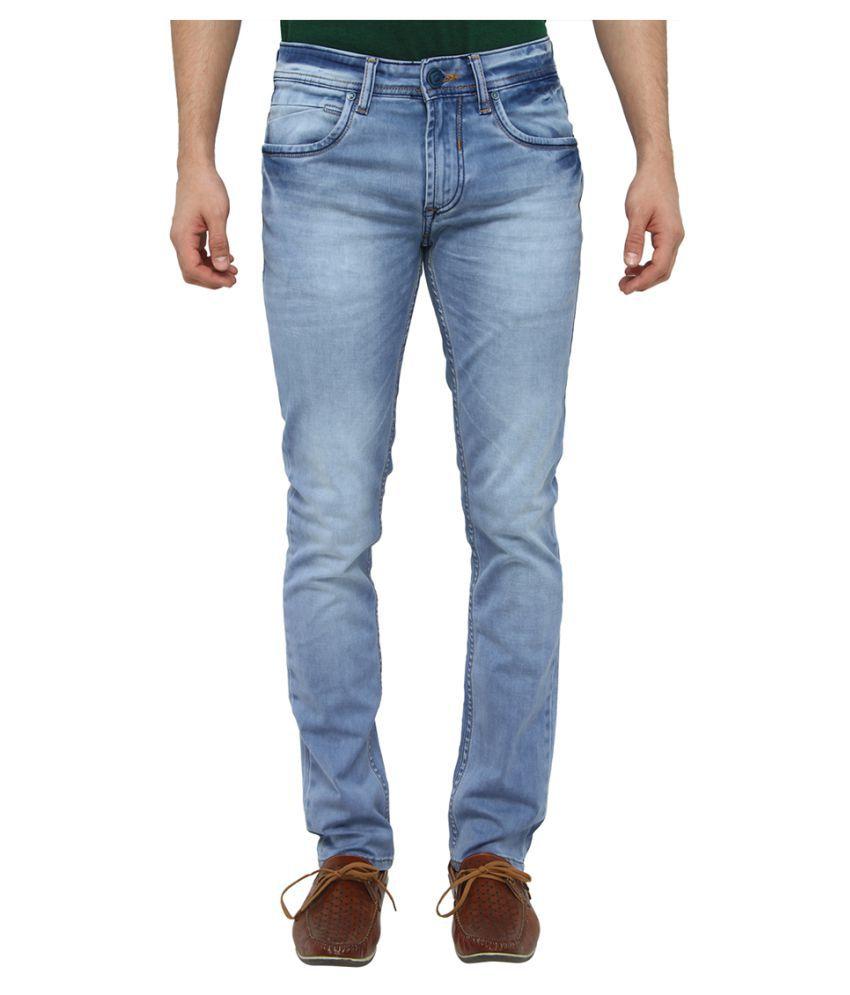 Greenfibre Light Blue Slim Jeans