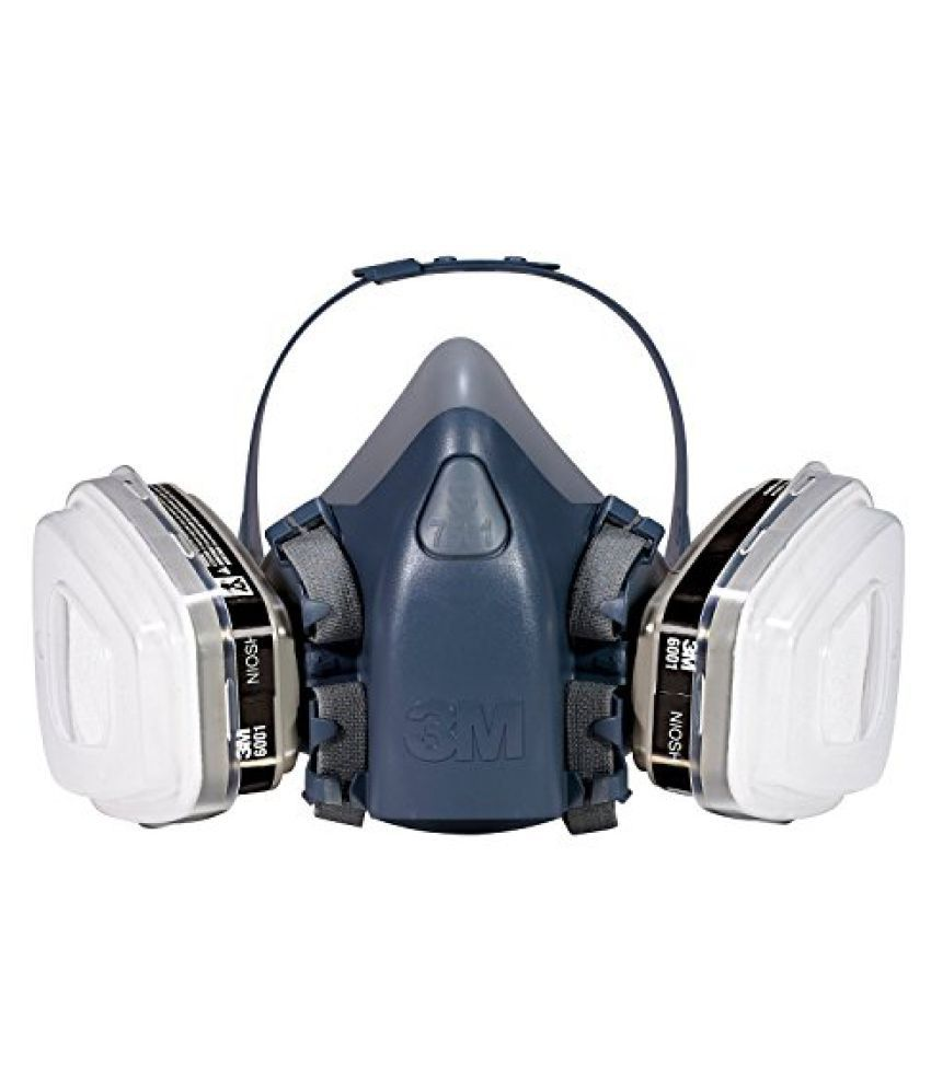 3M R-7512ES Professional Half-Mask Organic Vapor, P95 Respirator Assembly, Medium
