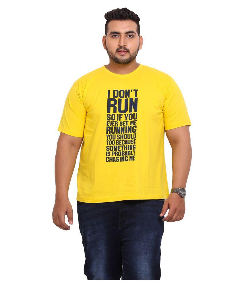John Pride Yellow Round T-Shirt