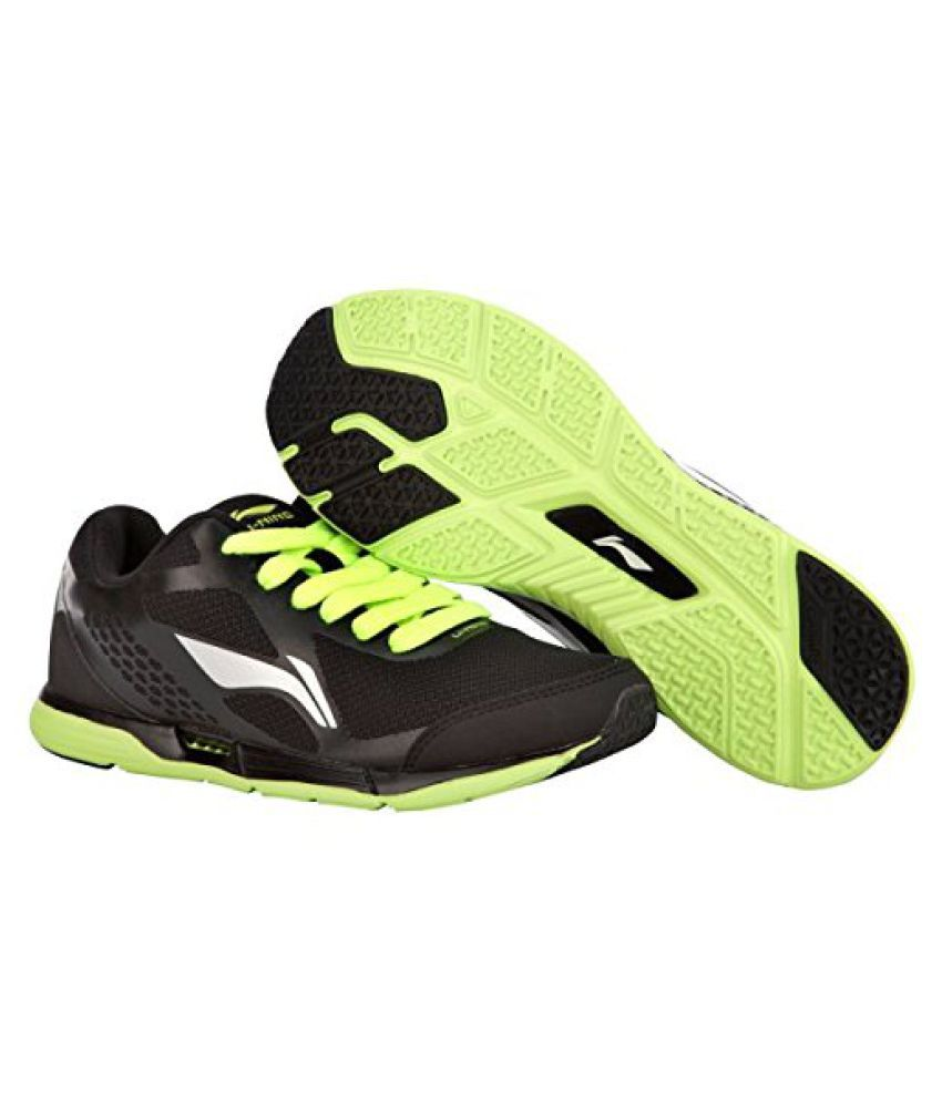 Li-Ning ARBJ073-2 Engine Running Shoes Black & Lime