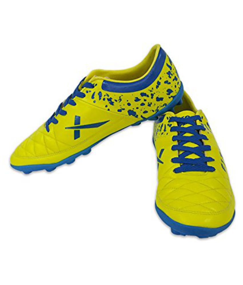 Vector X Fizer Football Shoes (Green-Blue)