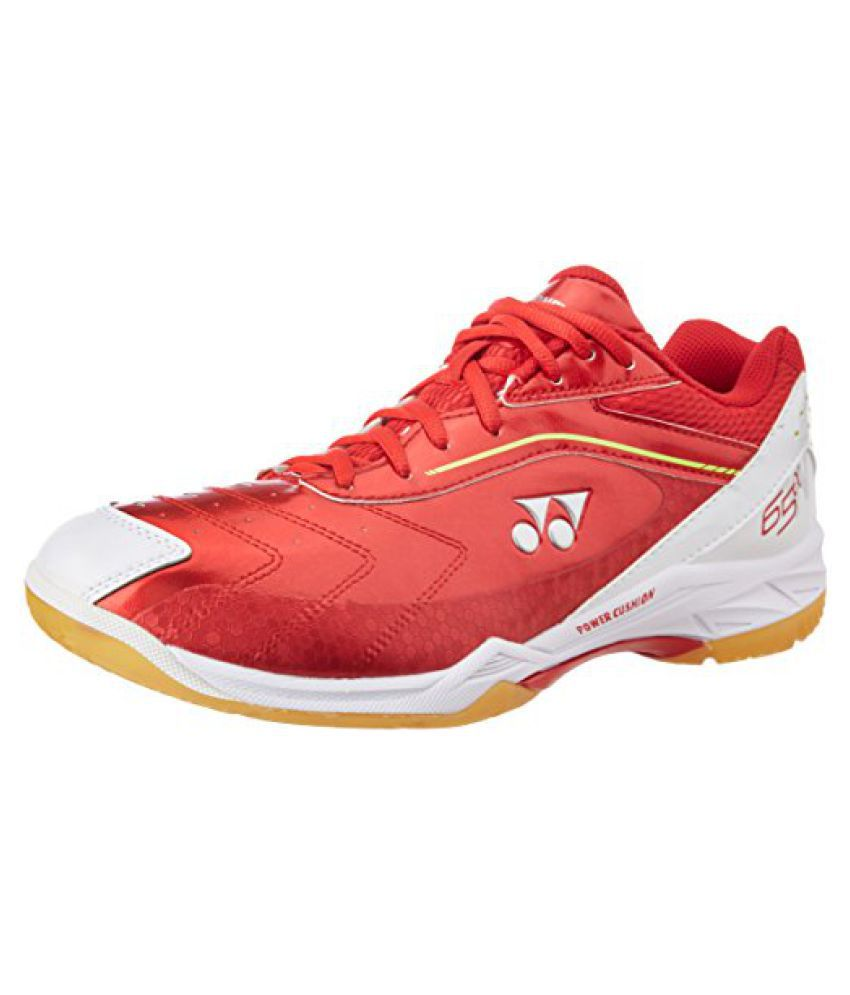 Yonex Badminton Shoes SHB 65 ALFA WIDE EX UK 5 (Red)