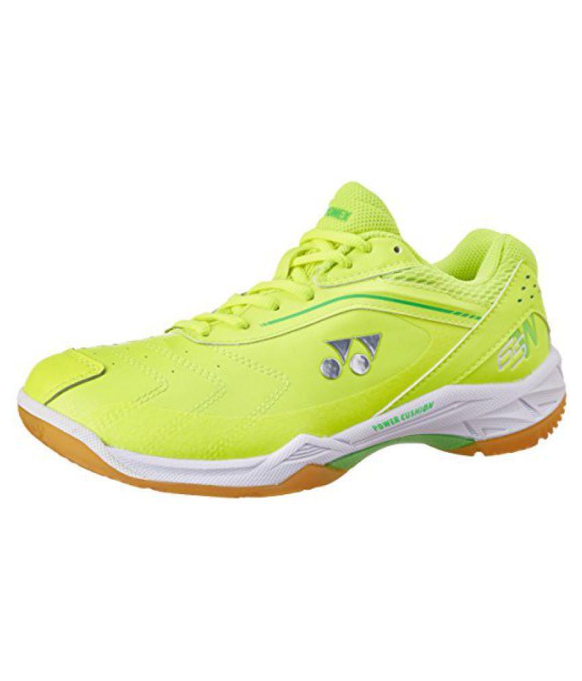 Yonex Badminton Shoes SHB 65 WIDE EX UK 8 (Bright Yellow)