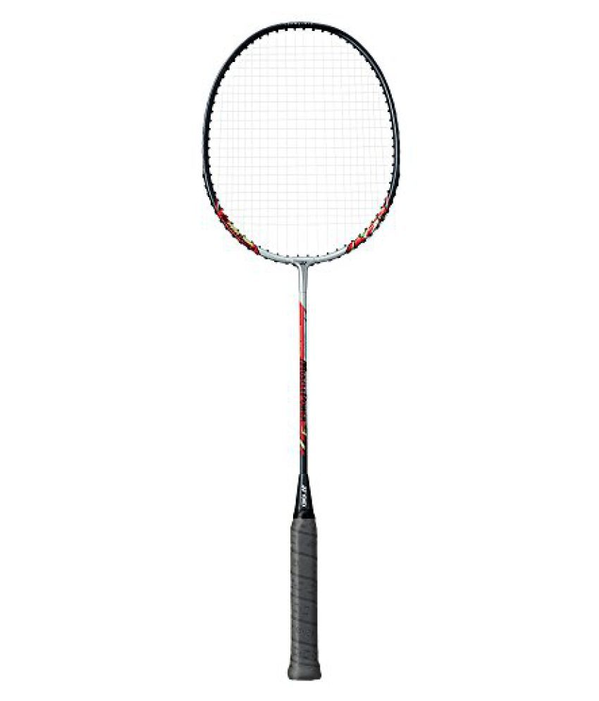 Yonex Muscle Power 3 Badminton Racket (Already Done It Is Tension of the String Mp3f) Silver / Red 2015 New Design