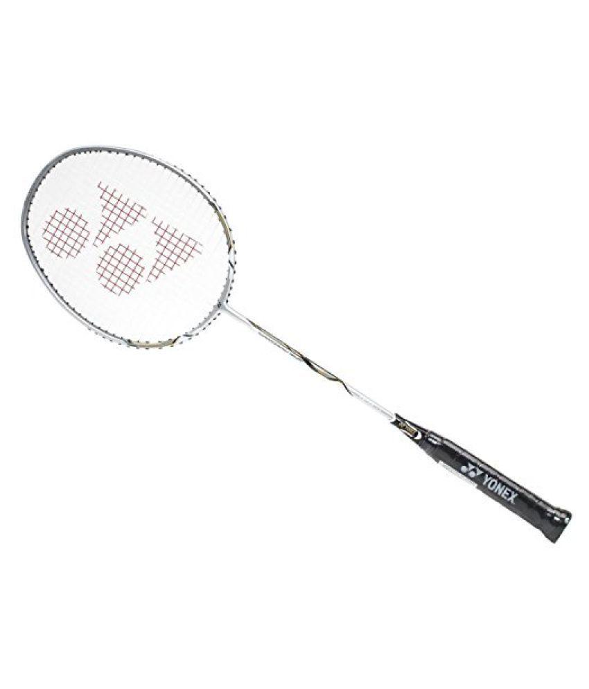 Yonex Nanoray10F Badminton Racquet, (Silver/Black)