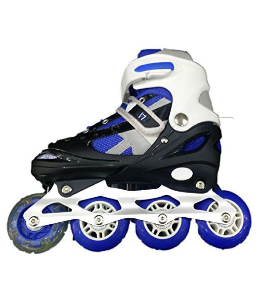 IRIS Inline Skates IR101 Size 3 - 6 UK adjustable (BLUE)
