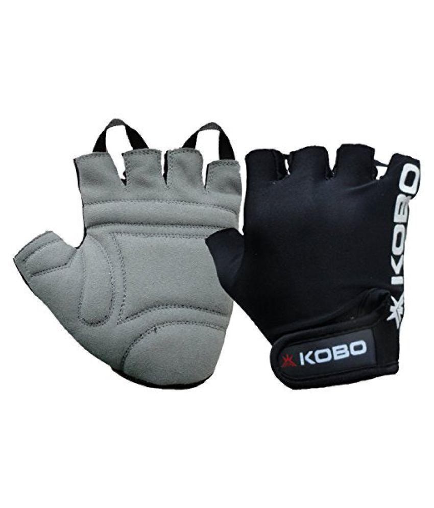 KOBO Fitness Gloves / Weight Lifting Gloves / Gym Gloves / Bike Gloves (Imported)