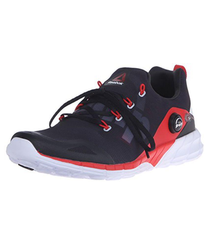 Reebok Men s Zpump Fusion 2.0 Running Shoe Motor Red/Coal/Black/White 10 D(M) US