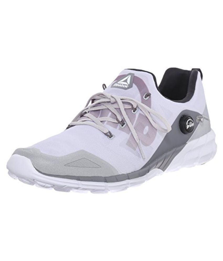 Reebok Men s Zpump Fusion 2.0 ELE Running Shoe Silver Metallic/Steel/Shark/Coal/White 10.5 D(M) US